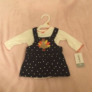 Carters Newborn Thanksgiving Outfit NWT